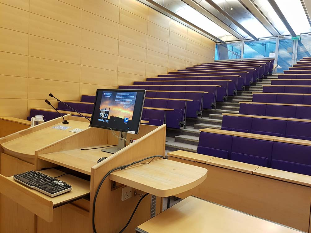 The Arthur Goodhart Lecture Theatre Lg19 Computer Office Faculty Of Law